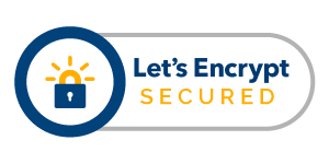 Secured by Let's Encrypt